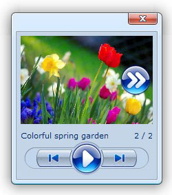 script download pop up box Picasa Web Album Patchwork